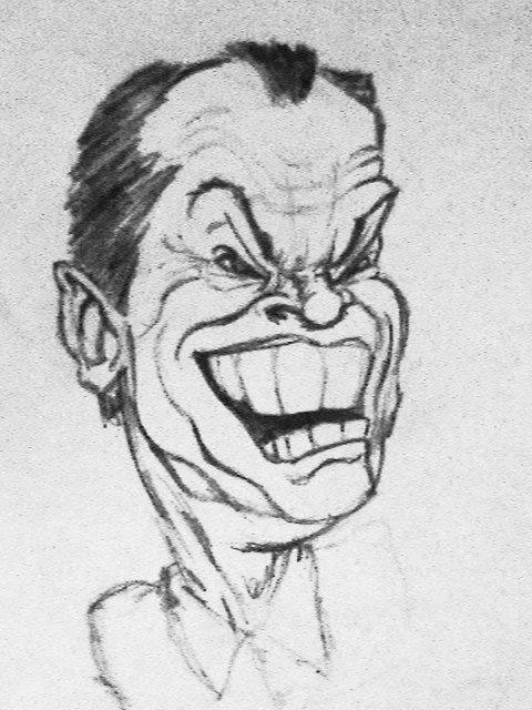 Jack Nicholson by lucysh